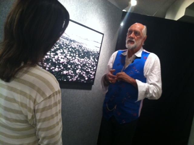 Mick Fleetwood displays art in Scottsdale gallery - Mick Fleetwood